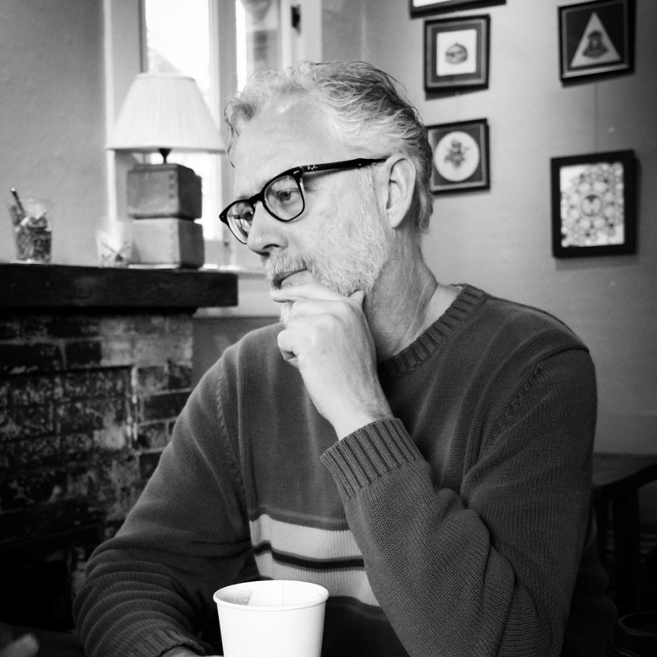 Ed Tankersley, novelist, poet, and visual artist
